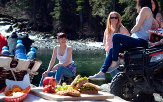 Пикник на квадроциклах