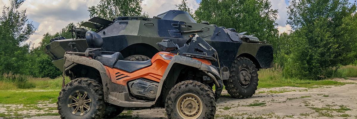 Катание на БРДМ в Москве и Подмосковье
