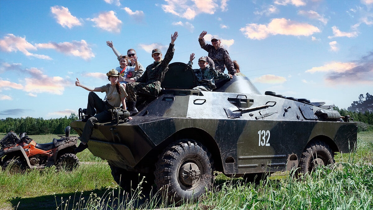 Катание на военной технике бронемашина БРДМ с вождением в Москве и Подмосковье